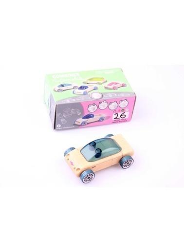 Ahşap Otomobil İnşaa Seti-Learning Toys